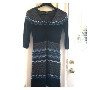 Sweater dress worn once. By a.n.a. Size M